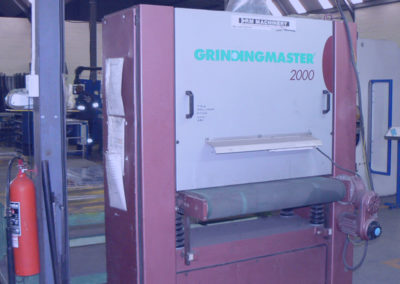 Grinding machine at Multipunch