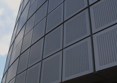 Laser Cut Panels for Office Building