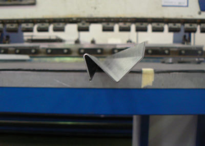 Examlple of bended sheet