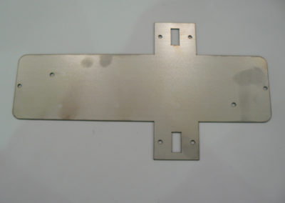 Example of laser cut