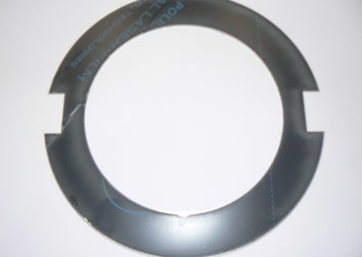 Example of laser cut steelring